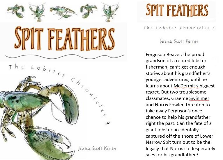 Spit Feathers with blurb