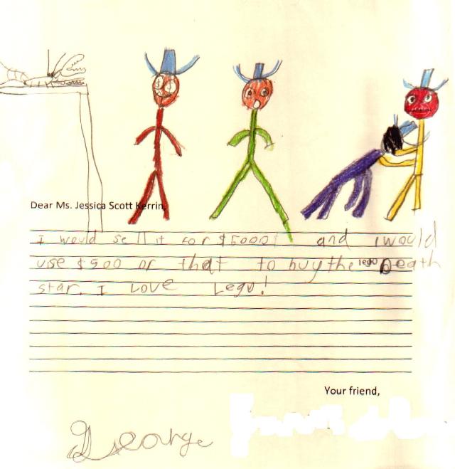 Drawing - George